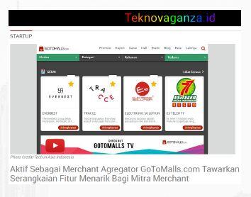 Gotomalls featured in Teknovaganza.id